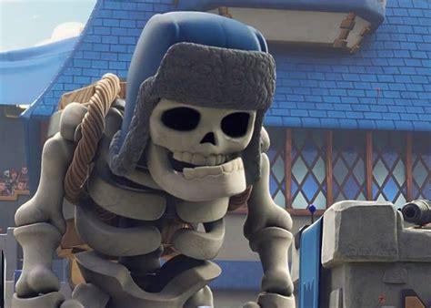 misin clash un esqueleto clash royale el mejor mazo de cartas para arena 5