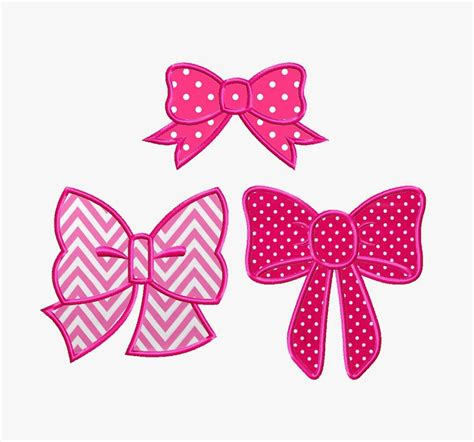 Free Applique Design by Bogo Free Set Bow For Applique Embroidery Design