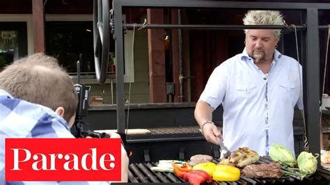 fieri talks grilling with parade magazine