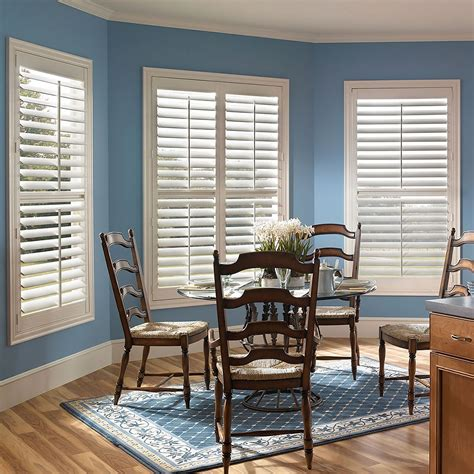 faux l shades fauxwood plantation shutters blindster com