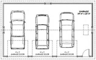 Dimensions Of A 3 Car Garage 3 Car Garage Size Flodingresort Com