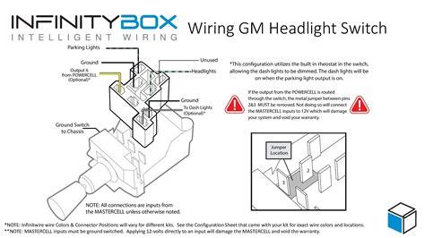 gm headlight switch wiring diagram infinitybox