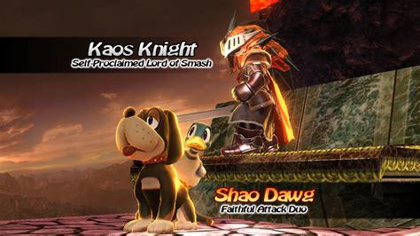 Kaos Ultimate 12 White ssb for wii u mii fighter kaos hd by whiteblade