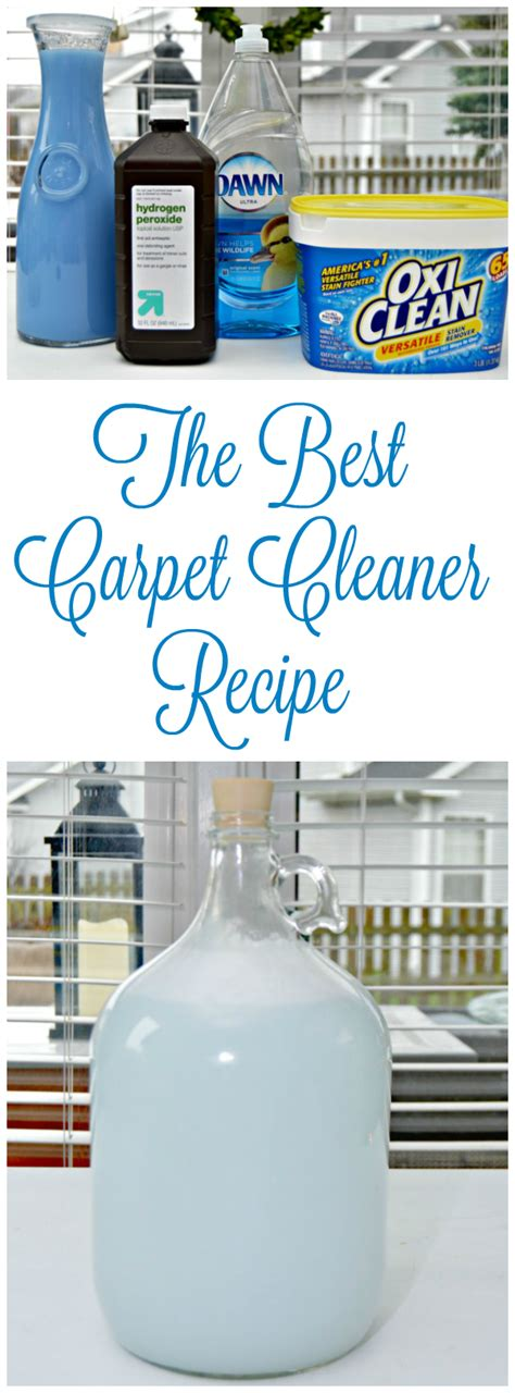 Rug Cleaner Recipe by The Best Carpet Cleaner Recipe 4 Real