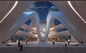 House Plans With Atrium In Center Changsha Meixihu International Culture And Art Centre
