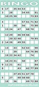printable 1 90 uk bingo card generator bingo party