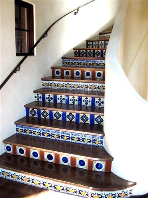 tread pattern in spanish latin staircases mediterranean staircase san