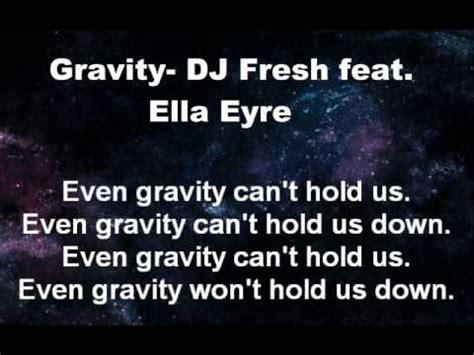 download mp3 dj fresh gravity gravity dj fresh feat ella eyre lyrics video youtube