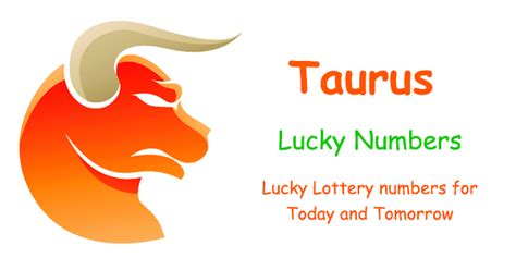 taurus lucky lottery numbers today and tomorrow