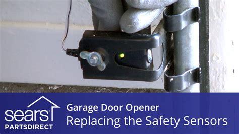 How To Adjust Garage Door Sensors by Replacing The Safety Sensors On A Garage Door Opener