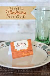 printable thanksgiving place cards a tipsy