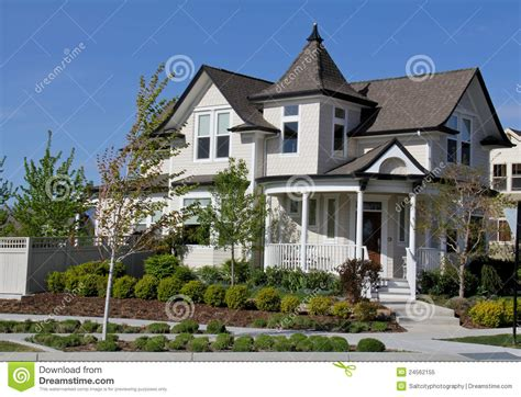 utah house victorian style house in utah stock image image of white