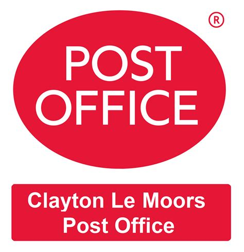 Post Office Call Out Number by Clayton Le Moors Post Office Post Offices 38