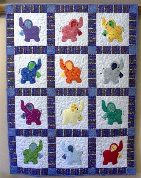 Patchwork Cot Quilt Patterns Free - elephant quilts elephant quilt don t