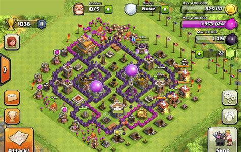 clash of clans defense town hall level 7 clash of clans defense town hall level 7