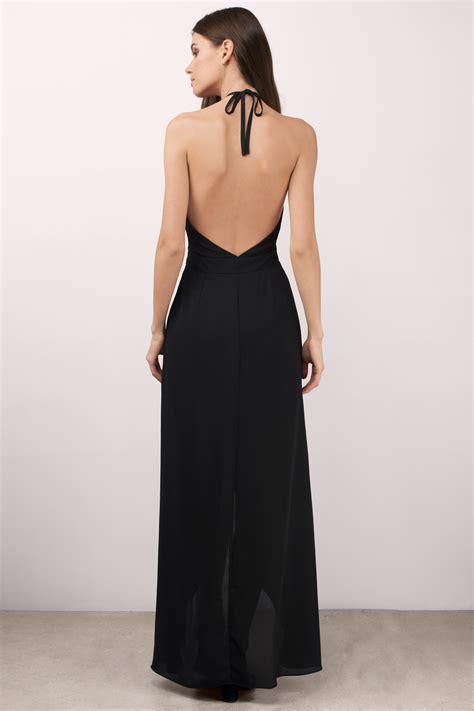 Id 428 Backless Dress black maxi dress keyhole dress black dress 78 00