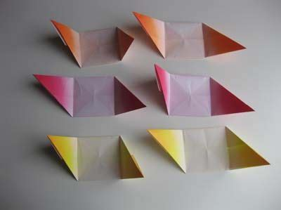 Geometric Origami Pdf - easy origami cube step 12 we made these in school but i