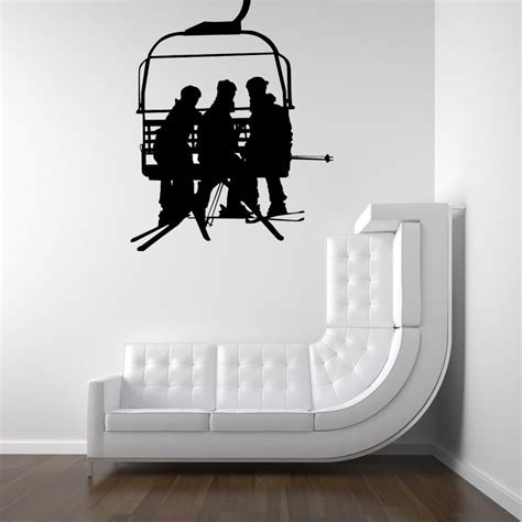 Ski Decor by Ski Lift Chair Ski Decor Chair Lift Snowboard