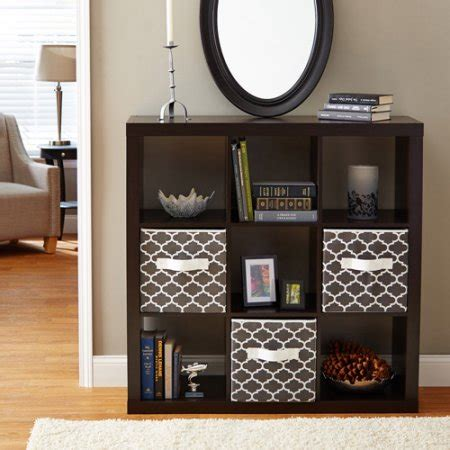 Walmart 5 Shelf Bookcase Black Better Homes And Gardens 9 Cube Storage Multiple Colors