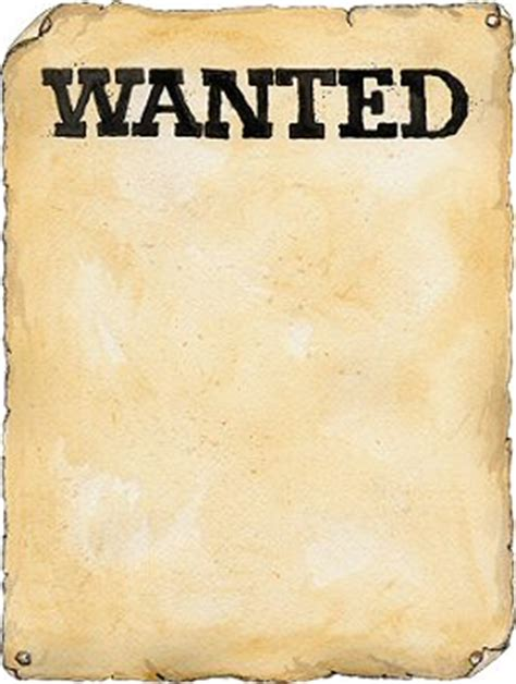 Wanted Sign Clipart wanted poster clipart