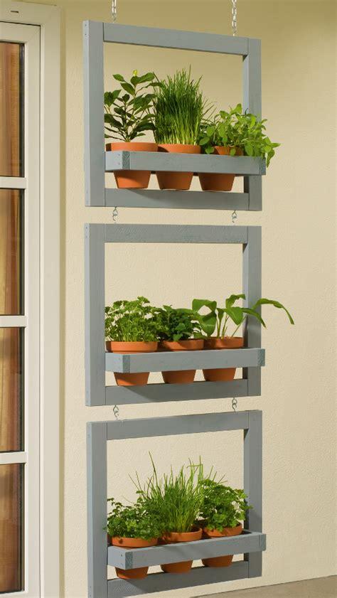 modern  creative vertical planter displays