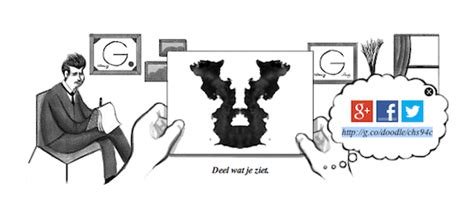 doodle rorschach interactieve doodle laat je een rorschachtest doen