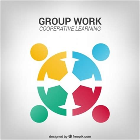 group works pattern language cards team logo vectors photos and psd files free download