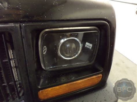 xj hid projector headlight build blackflamecustoms
