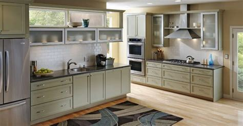 kraftmaid willow cabinets cottage kitchen ideas