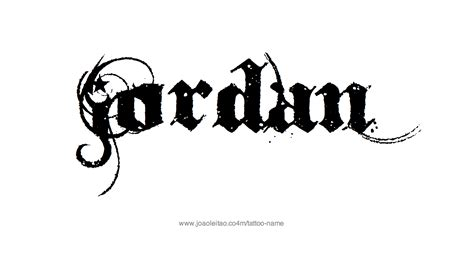 jordan logo tattoo designs name designs