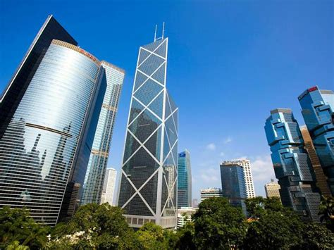 hong kongs  famous landmarks buildings skyline