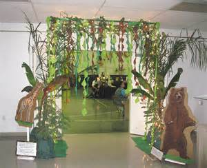 dekoration dschungel jungle safari theme decoration