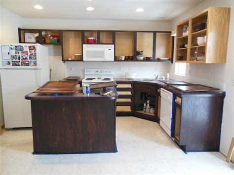 best way to stain kitchen cabinets how to apply gel stain to kitchen cabinets mf cabinets
