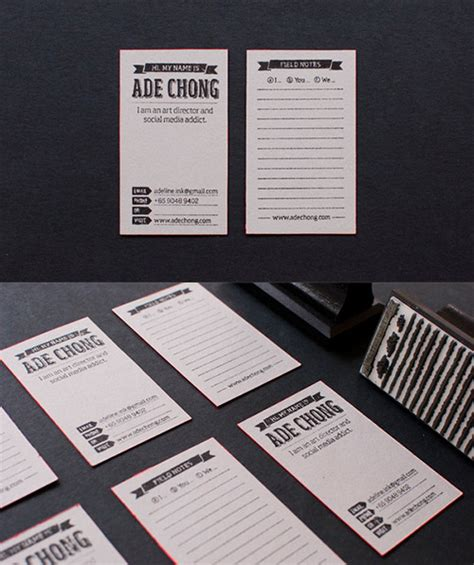 Handmade Card Company Names - a compilation of creative diy business cards you should