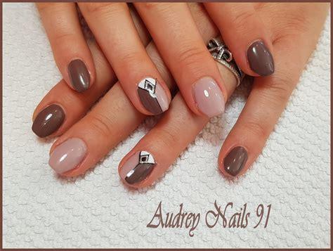 Beige Nägel by Institut De Beaut 233 Nails 91 Pose D Ongles En Gel