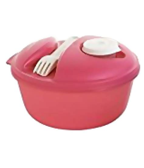 Tupperware Lunch Box Pink tupperware pink polypropylene pp lunch box buy