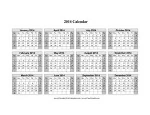 pages calendar template 2014 calendar 2014 printable one page