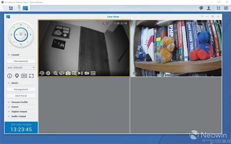 live view ip review of synology s surveillance station a free ip