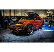 Ford Previews Edge And Explorer Based SEMA Concepts  Car