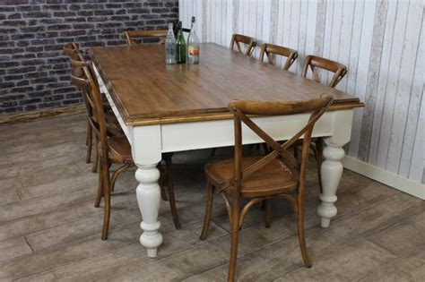 Big Kitchen Table Pine Farmhouse Table Large Antique Pine Dining Kitchen Table