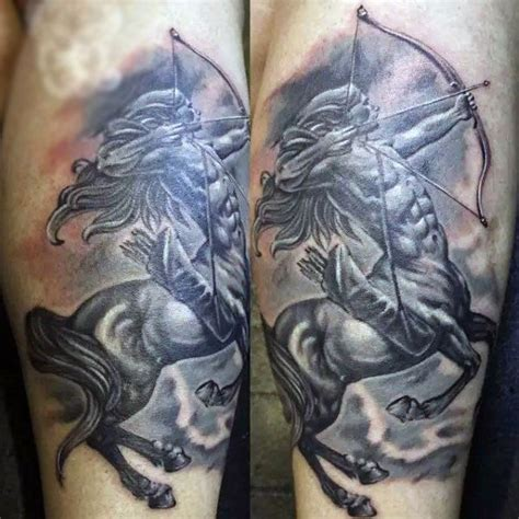 30 sagittarius tattoos for men astrological sign designs