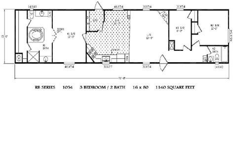 3 bedroom trailer floor plans 3 bedroom mobile home floor plans house design plans