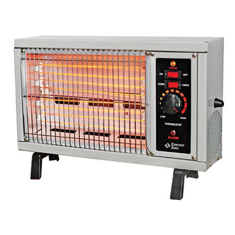 comfort zone electric heater comfort zone deluxe electric radiant heater west marine