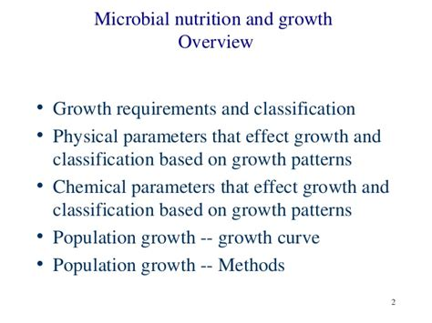 growth pattern classification b sc micro i em unit 2 microbial growth nutrition a