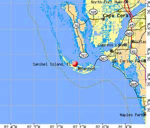 santa bell florida map sanibel island florida fl 33957 profile population