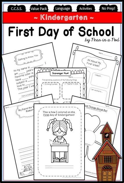 activities kindergarten first day 381 best new school year images on pinterest activities