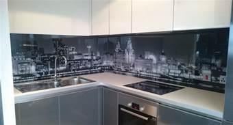 Glass Backsplash Ideas For Kitchens printed glass splashbacks for kitchens colour 2 glass
