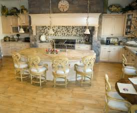 Circular Kitchen Island semi circular kitchen island with eating on the curved side