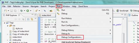 configure xp with eclipse pdt debug wordpress avec eclipse pdt pierre jean ing 233 nieur