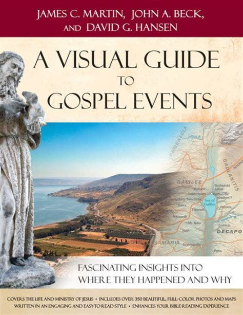Visual Guide To Gospel Events A Fascinating Insights